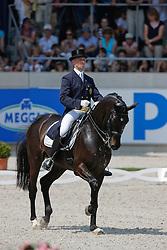Devroe Jeroen (BEL) - Apollo vh Vijvershof<br /> CDIO Grand Prix<br /> CHIO Aachen 2009<br /> Photo © Dirk Caremans$