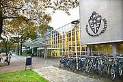 Nederland, Nijmegen, 31-10-2015 De aula van de RU, Radboud Universiteit . FOTO: FLIP FRANSSEN