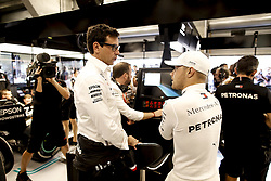 August 31, 2019, Spa-Francorchamps, Belgium: Motorsports: FIA Formula One World Championship 2019, Grand Prix of Belgium, ..Toto Wolff (AUT, Mercedes AMG Petronas Motorsport), #77 Valtteri Bottas (FIN, Mercedes AMG Petronas Motorsport) (Credit Image: © Hoch Zwei via ZUMA Wire)