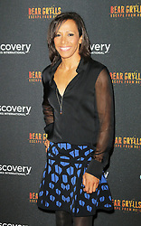 © Licensed to London News Pictures. 25/09/2013, UK. Kelly Holmes. Bear Grylls: Escape From Hell - launch party, Battersea Power Station, London UK, September 25. Photo credit : Richard Goldschmidt/Piqtured/LNP