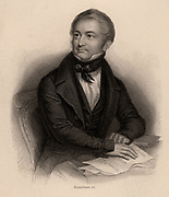 Louis Adolphe Thiers (1797-1877), French historian and statesman. President of Third Republic, 1870. Engraving.