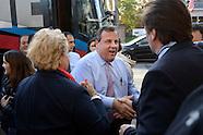 Gov. Christie Campaigns in Burlington City