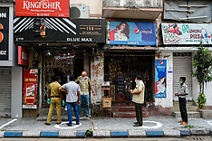 Liquor Shops Open Amidst Extended Lockdown - India 5 May 2020