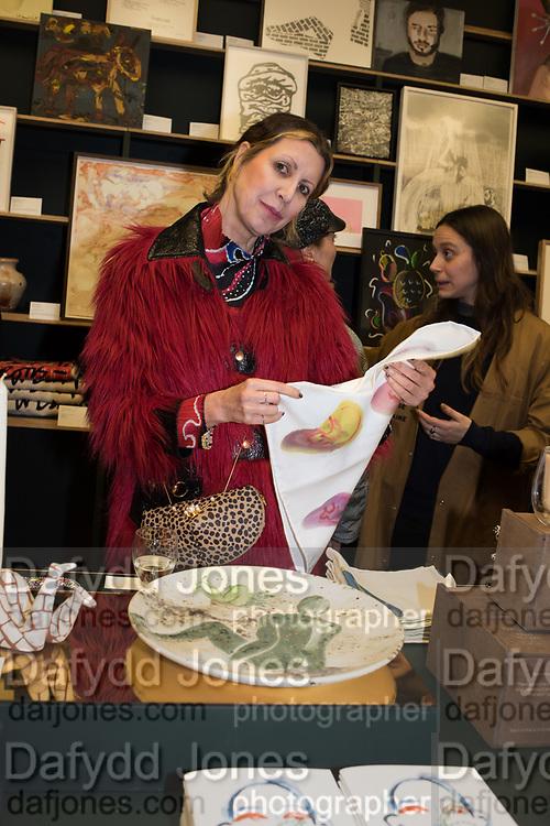 VALERIA NAPOLEONE, Neo Naturist Christmas event , Studio Voltaire Gallery shop, Cork St.   20 November 2019