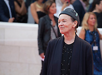 Laurie Anderson at the premiere of the film Suburbicon at the 74th Venice Film Festival, Sala Grande on Saturday 2 September 2017, Venice Lido, Italy.