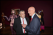 SIR NORMAN ROSENTHAL; ALLEN JONES, Allen Jones private view. Royal Academy,  London. 11 November  2014.