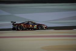 November 16, 2017 - Sakhir, Bahrein - 51 AF CORSE (ITA) FERRARI 488 GTE LMGTE PRO JAMES CALADO (GBR) ALESSANDRO PIER GUIDI  (Credit Image: © Panoramic via ZUMA Press)