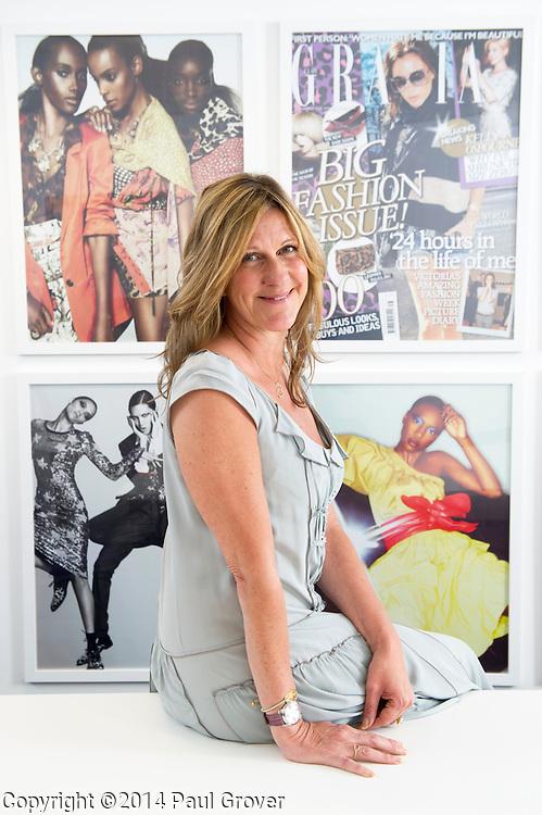 Jane Bruton Editor of Grazia Magazine