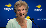 Virginia Wade during Media Day during Media Day at the 2018 US Open Grand Slam tennis tournament, New York, USA, August 24th 2018, Photo Rob Prange / SpainProSportsImages / DPPI / ProSportsImages / DPPI