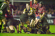 Gloucester, Gloucestershire, UK., 04.01.2003, action from the, Zurich Premiership Rugby match, Gloucester vs London Wasps,  Kingsholm Stadium,  [Mandatory Credit: Peter Spurrier/Intersport Images],