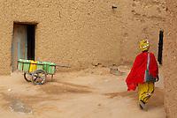 Niger. Agadez (Agades). Porte du desert. // Niger. Agadez. Door of the desert.
