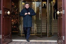 © Licensed to London News Pictures. 10/12/2019. London, UK. Shadow Secretary of State for Health and Social Care Jon Ashworth departs Millbank after appearing Daily Politics .  Photo credit: George Cracknell Wright/LNP