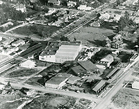 1919 Aerial of American Film Co., Santa Barbara, CA