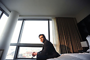 MANHATTAN, NEW YORK, MARCH 4, 2014 Actor Billy Crudup is seen at the Trump Soho New York Hotel in Manhattan, NY. 3/4/2014 Photo by Jennifer S. Altman/For The Times