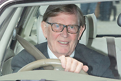 © Licensed to London News Pictures. 03/09/2019. London, UK. MP for Stone Sir Bill Cash arrives at The Houses of Parliament. Parliament is returning from the summer recess today with MPs expected to try to stop a no-deal Brexit. Prime Minister Boris Johnson has threatened to hold a snap election if the legislation is passed.  Photo credit: George Cracknell Wright/LNP