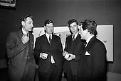 1965 - Merville Dairy Press Conference at Telefis Eireann studios