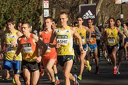 BAA 5K road race start BAA Eric Ashe