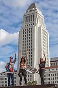 Womens March, Los Angeles, January 21, 2017, California