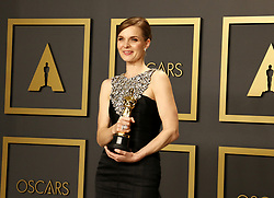 Hildur Gudnadóttir at the 92nd Academy Awards - Press Room held at the Dolby Theatre in Hollywood, USA on February 9, 2020.