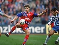 Fotball<br /> Bayern München<br /> Foto: Witters/Digitalsport<br /> NORWAY ONLY<br /> <br /> ZICKLER , Alexander     Fussballspieler  Bayern München<br /> Bayern München - 1860 München<br /> 1994