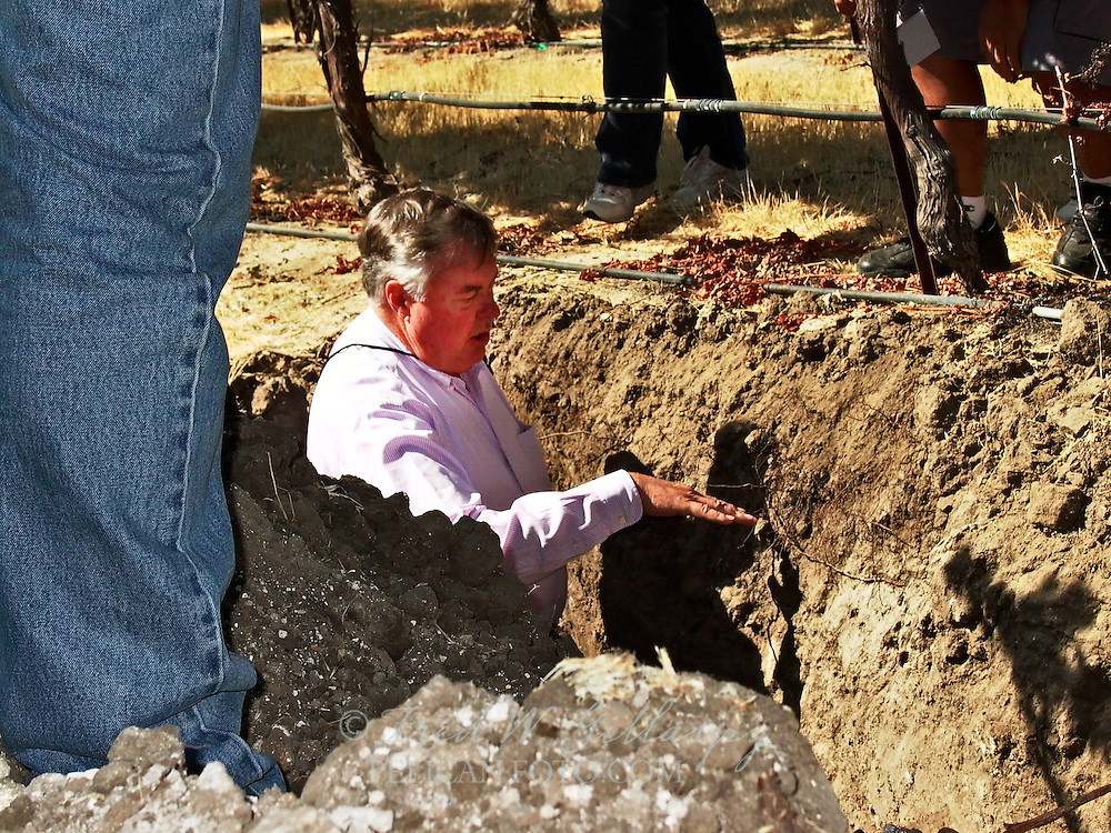 Jerry Lohr in The Vineyard, Paso Robles