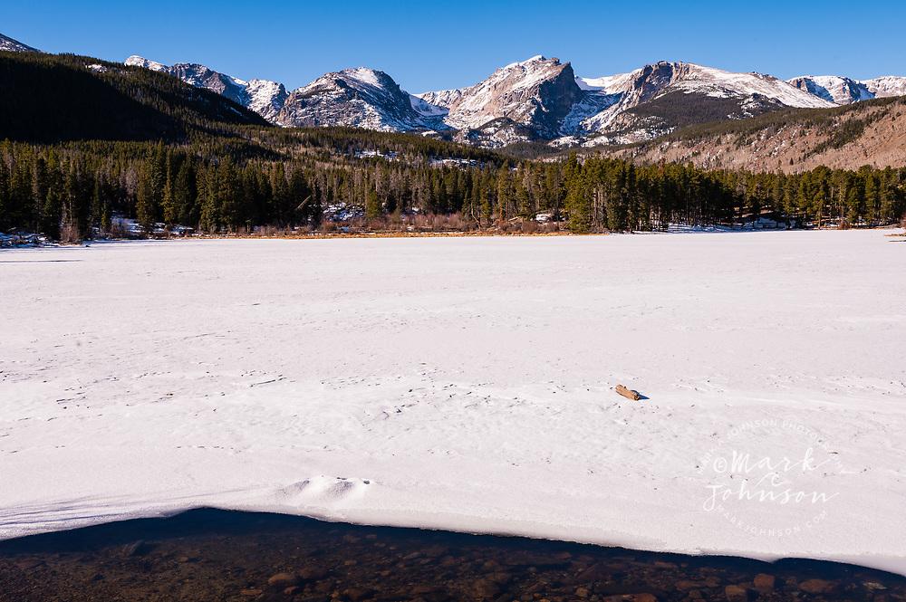 Sprague Lake, Rocky Mountain National Park, Colorado, USA