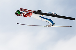 Anze Semenic (SLO) during Ski Flying Hill Men's Team Competition at Day 3 of FIS Ski Jumping World Cup Final 2017, on March 25, 2017 in Planica, Slovenia. Photo by Vid Ponikvar / Sportida