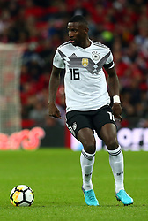 November 10, 2017 - London, England, United Kingdom - Antonio Rudiger of Germany ..during International Friendly match between England  and Germany  at Wembley stadium, London  on 10 Nov  , 2017 ..during International Friendly match between England  and Germany  at Wembley stadium, London  on 10 Nov  , 2017  (Credit Image: © Kieran Galvin/NurPhoto via ZUMA Press)
