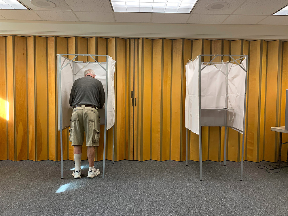 Although voters in the Commonwealth of Massachusetts cast their ballots in record numbers with absentee ballots and in person during early vote, turnout was steady at the polls on Primary Day.