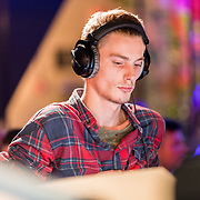 NLD/Amsterdam/20171019 - Prijsuitreiking en mini concert David Guetta,