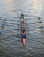 Rowing on the Cuyahoga River in Clevealnd