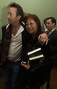 May Ling and Julian Lennon, Launch of 'John' by Cynthia Lennon at Six, Fitzroy Sq. London. 27 September 2005. ONE TIME USE ONLY - DO NOT ARCHIVE © Copyright Photograph by Dafydd Jones 66 Stockwell Park Rd. London SW9 0DA Tel 020 7733 0108 www.dafjones.com
