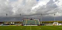 Photo: Ed Godden.<br /> Milton Keynes Dons v Hereford United. Coca Cola Championship. 21/10/2006. The clouds gather over the National Hockey Stadium.