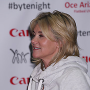 London, UK. 7th October, 2016. Anthea Turner, Jenny Agutter sleeps-out at Byte Night 2016 - Action for Children to tackle youth homelessness in London at Norton Rose Fulbright, 3 More London Riverside, London, UK. Photo by See Li