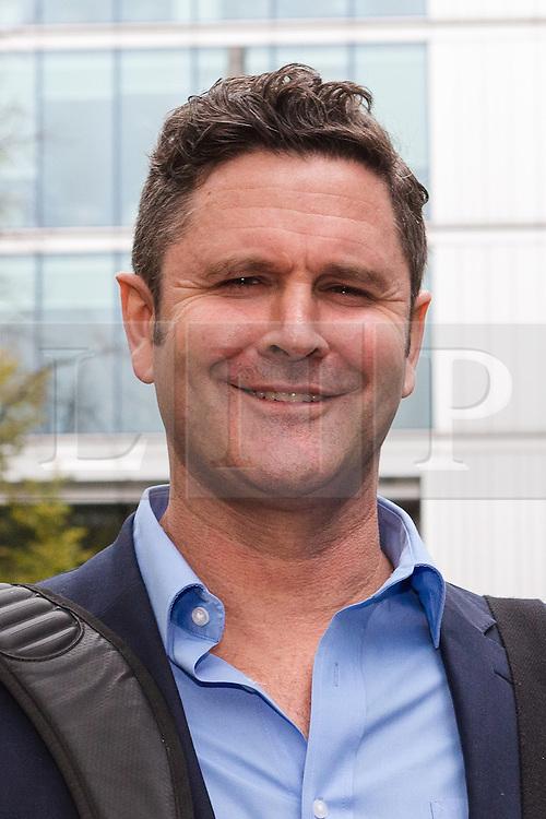 © Licensed to London News Pictures. 30/11/2015. London, UK. Chris Cairns leaving Southwark Crown Court in London after the jury found him not guilty. The former New Zealand cricketer, Chris Cairns and his Barrister Andrew Fitch-Holland were both found not guilty of perjury and perverting the course of justice. Photo credit : Vickie Flores/LNP