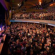 The Grand Ole Opry crowd watches Alan Jackson perform at the Ryman auditorium in Nashville, Tennessee. The Opry returns to its' original home in downtown Nashville during the winter season. Nathan Lambrecht/Journal Communications