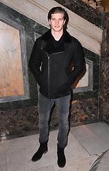 Toby Huntington-Whiteley at the Julien Macdonald Autumn/Winter 2017 London Fashion Week show at Goldsmiths' Hall, London. Photo credit should read: Doug Peters/ EMPICS Entertainment