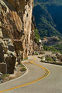 Highway Route 180 into Kings Canyon, Fresno County, California