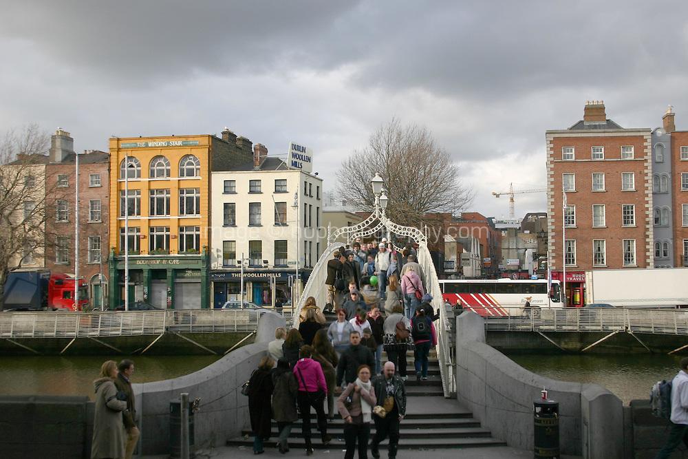 Hapenny Bridge, Dublin, Ireland