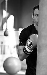 23.08.2011, Stanglwirt, Going, AUT, Vitali Klitschko, Training, im Bild Vitali Klitschko zwischen Boxsäcken// during a trainingssession at Hotel Stanglwirt in Going, Austria on 23/8/2011. EXPA Pictures © 2010, PhotoCredit: EXPA/ J. Groder