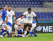 Maro Itoje (England) during the Guinness Six Nations 2020, rugby union match between Italy and England on October 31, 2020 at the Stadio Olimpico in Rome, Italy - Photo Luigi Mariani / LM / ProSportsImages / DPPI
