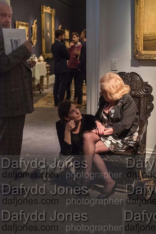 MARTIN JONES; KATHERINE CARROLL; ALEXANDRA SHANAHAN, <br /> Town and Country June issue launch. Sothebys, New Bond St. London 26 June 2015