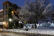 Snowy scene in Middletown, N.Y., on Dec. 2, 2019.