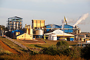 Arapora_MG, Brasil...Usina acucareira na BR 153 em Arapora, Minas Gerais...The sugar industry in the highway BR 153 in Arapora, Minas Gerais...Foto: LEO DRUMOND / NITRO