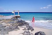 snorkeler at Club Cozumel Caribe, Cozumel, Quintana Roo, Mexico ( Caribbean Sea ) MR 138