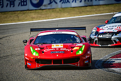 November 24, 2018 - Shanghai, Chine - 11 CAR GUY (JPN) FERRARI 488 GT3 GT TAKESHI KIMURA (JPN) KEI COZZOLINO (JPN) JAMES CALADO  (Credit Image: © Panoramic via ZUMA Press)