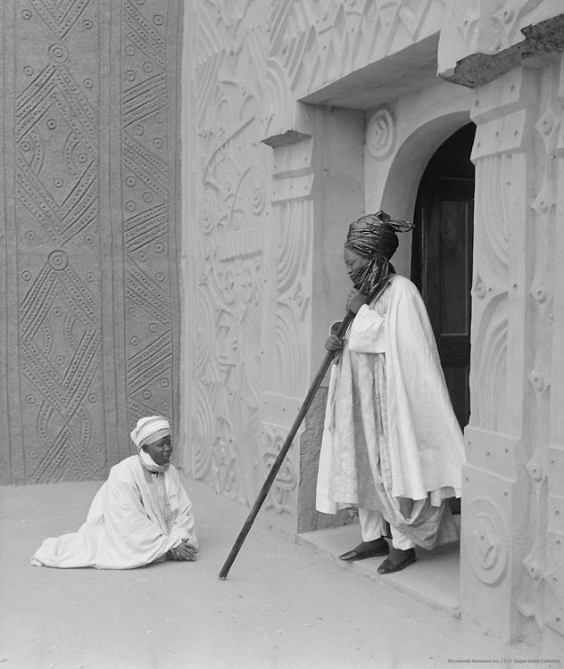 The Emir, Kano, Nigeria, Africa, 1937