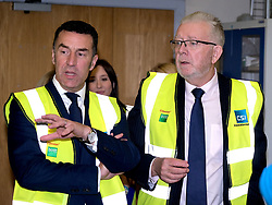 Helping Businesses Prepare For Brexit, Livingston, Thursday 1st November 2018<br />  <br /> Constitutional Relations Secretary Michael Russell launched a new dedicated online domain and a specially designed Brexit self-assessment tool in Livingston.<br /> <br /> The self-assessment tool will help businesses identify how Brexit might affect them, providing bespoke recommendations for action to help their planning activities. It will also be home to the Brexit toolkit, 15-point checklist, news, articles, access to experts and event listings.<br /> <br /> The launch was made during a visit to CSI Group (Complete Storage Interiors) in Livingston where Mr Russell talked to the company about the challenges Brexit poses for business, particularly SMEs.<br /> <br /> Pictured: CSI Group Managing Director Robert Kennedy (left) and Michael Russell<br /> <br /> Alex Todd   Edinburgh Elite media
