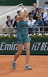 Anna Blinkova on day five of The Roland Garros 2019 French Open tennis tournament in Paris, France on May 30, 2019. Photo by ABACAPRESS.COM, Roland Garros French Open Day 5, in Paris, France. ©Ciol/ABACAPRESS