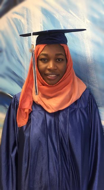 Liberty High School 2016 valedictorian Ayat Bakora.